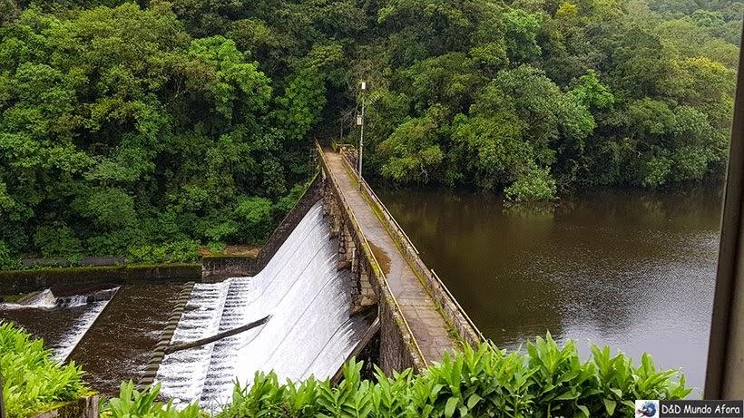 Barragem do parque Estadual Marumbi - Passeio de trem de Curitiba a Morretes