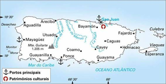 Porto Rico, Território dos Estados Unidos da América