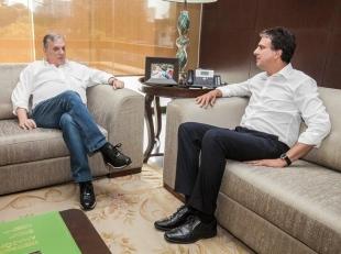 REPERCUSSÃO:  Camilo Santana e Alckmin defendem nome de Tasso para eleições indiretas