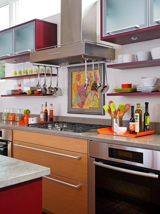 Kitchen Cabinet Interior Design: New Home Interior Design: Kitchen Cabinet Ideas