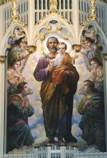 St. Joseph with Christ