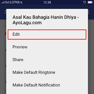 Cara Membuat Ringtone di Android - 2