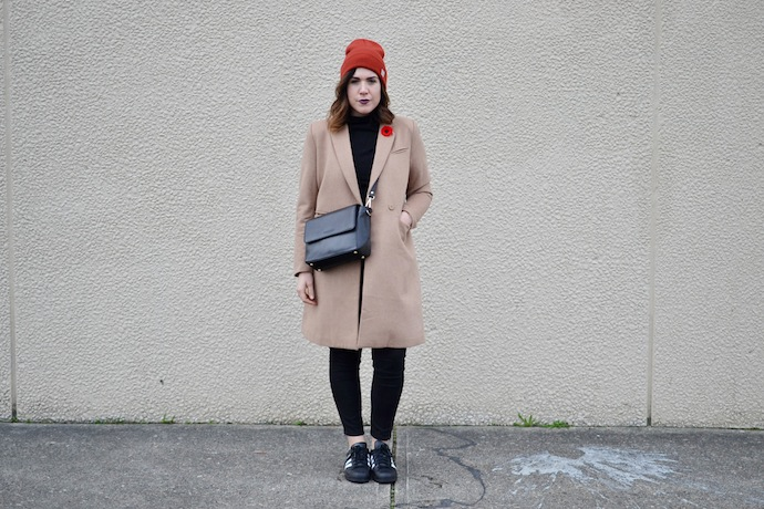 Le Chateau Louise Labrecque handbag Vancouver blogger crossbody winter style