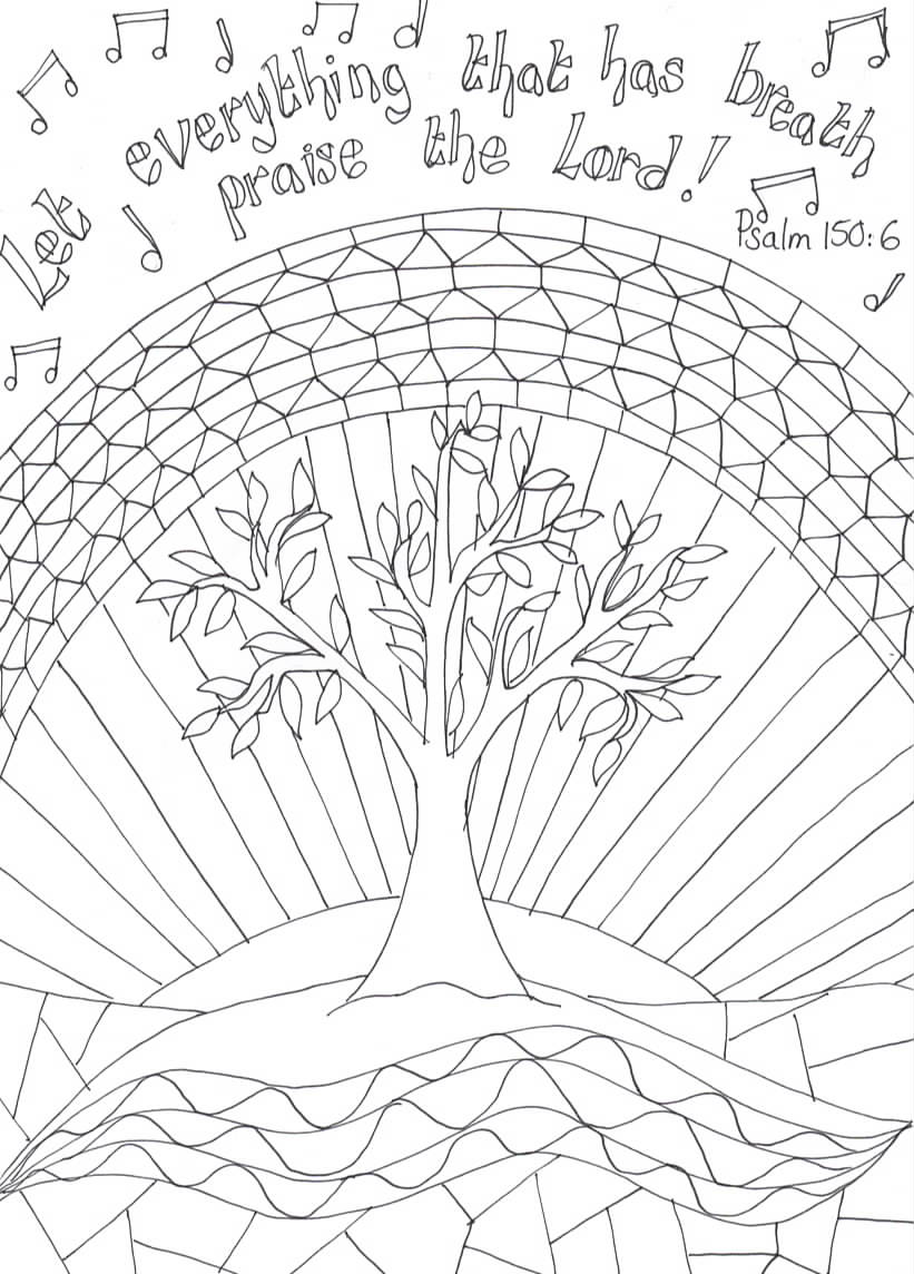 Flame creative children 39 s ministry printable reflective for Matthew 6 25 34 coloring page