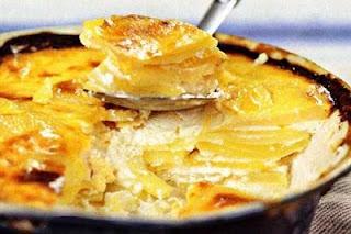 Картофель с творогом и йогуртом по-болгарски