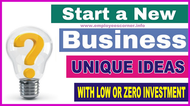 How to start a business without Investment