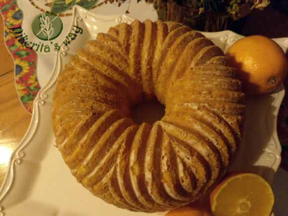 Gluten Free Bundt Cake de naranja