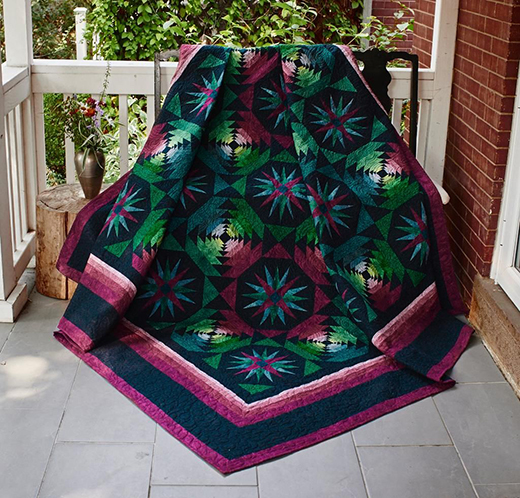 New Moon Quilt Free Pattern