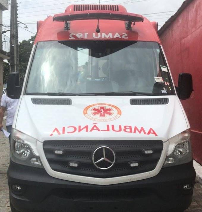 Prefeitura de Umbuzeiro adquiri uma nova ambulância para o SAMU