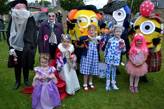 Fancy Dress winners Broughty Ferry Gala July 2016