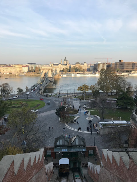 Budapest things to do - walk to BudaCastle