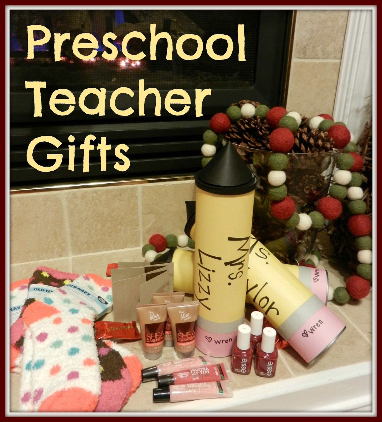 chrismas gift card for preschool teacher 2012 just bcause