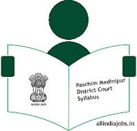 Paschim Medinipur District Court Group D Syllabus