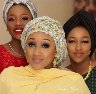 See These Stunning Photos Of President Buhari's Beautiful Granddaughters