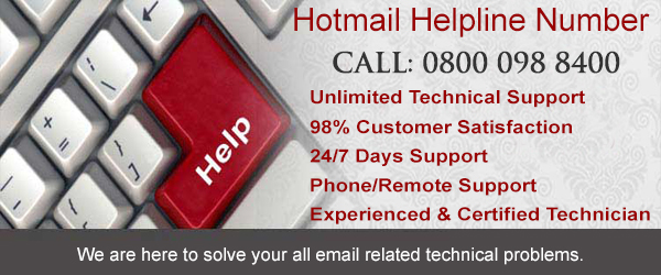 Hotmail helpline number uk