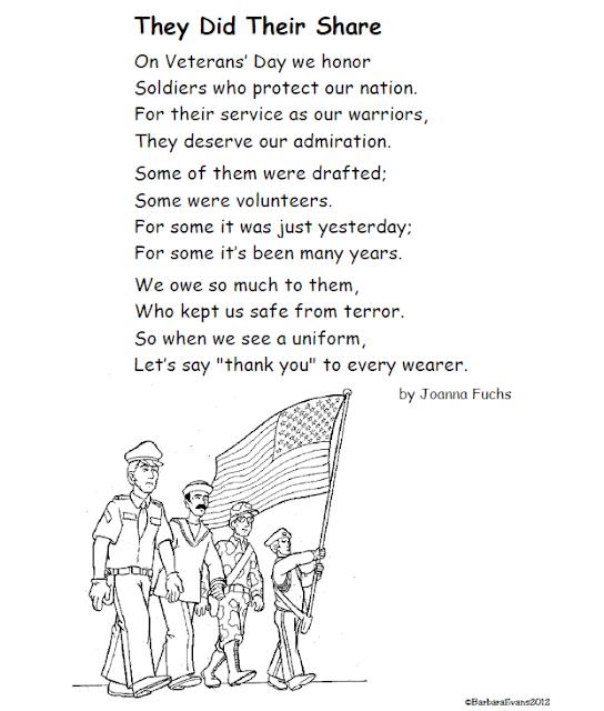 Short Veterans Day Letter Template