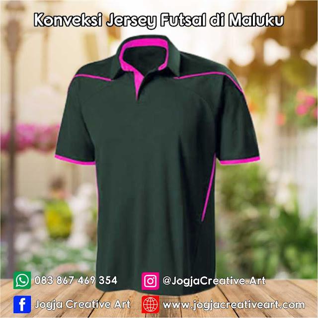 Bikin Jersey Futsal Printing Siap Kirim ke Maluku
