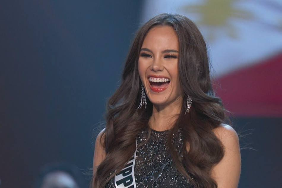 TOP FIVE. Congratulations to Miss Philippines Catriona Gray!