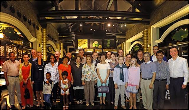 Câu lạc bộ Đại sứ ẩm thực tới thăm Đà Nẵng