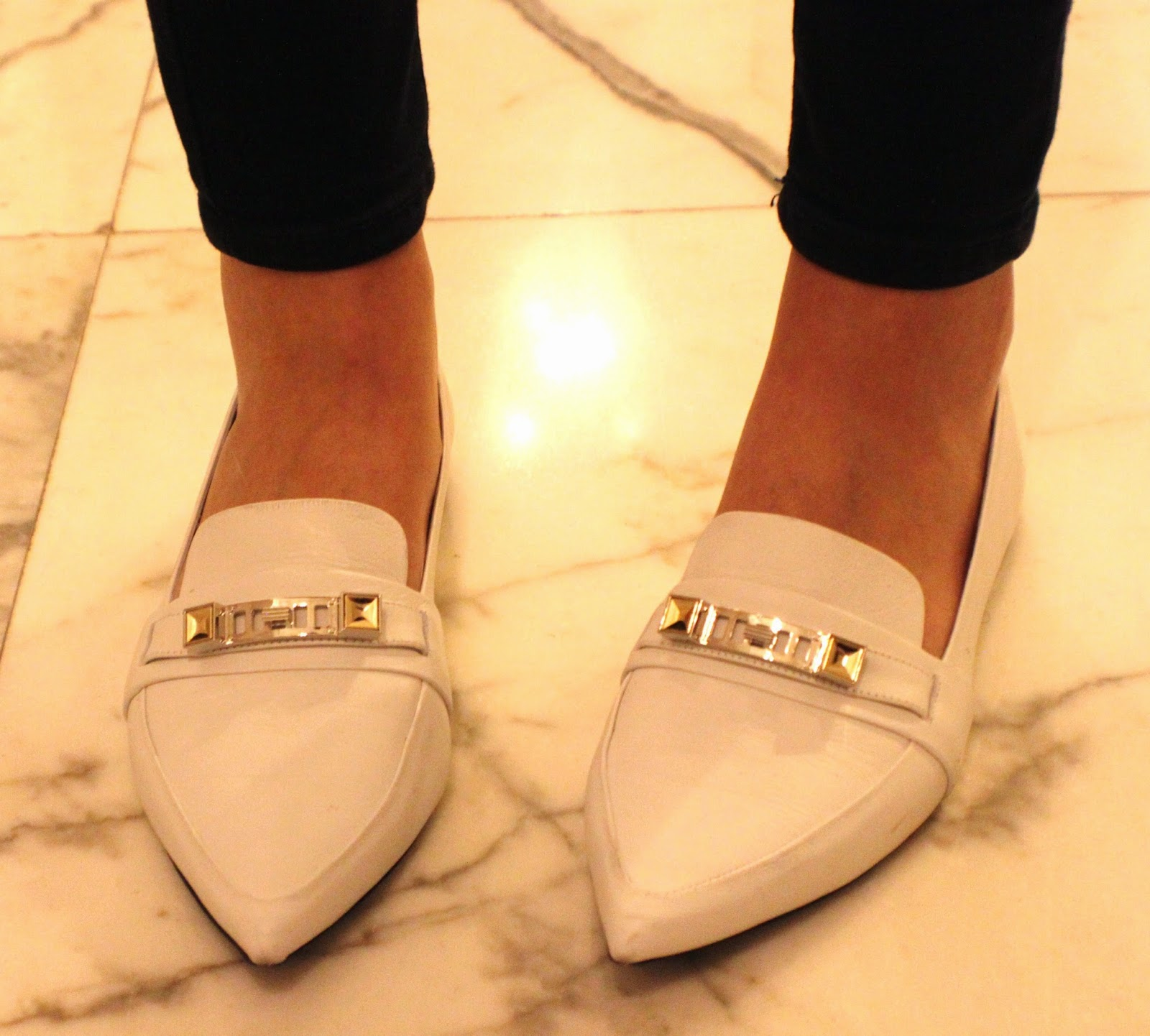 proenza schouler white flat shoes