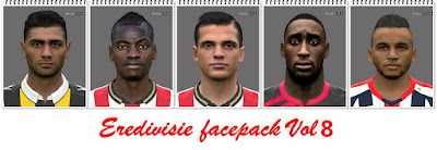 Eredivisie Facepack Vol8