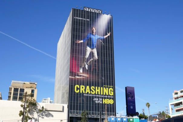 Giant Crashing season 3 billboard