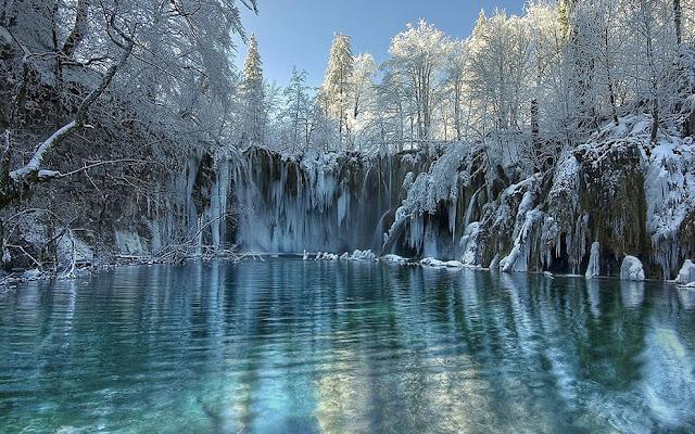 جولة سياحية أجمل البلاد مستوى العالم كرواتيا بليتفيتش Winter-on-Plitvice-lakes.jpg