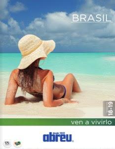 Catálogo, folleto de la mayorista de viajes Abreu