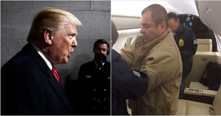 La primera batalla en la que 'El Chapo' venció a Trump