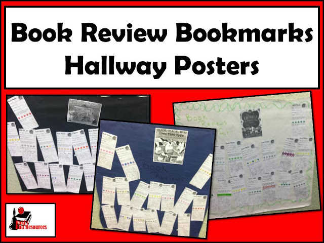 Using book review bookmarks to prepare students for opinion writing provides a quick practice that links to true opinion writing - includes a free download from Raki's Rad Resources