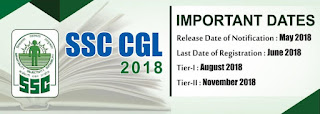 SSC CGL 2018 Vacancy