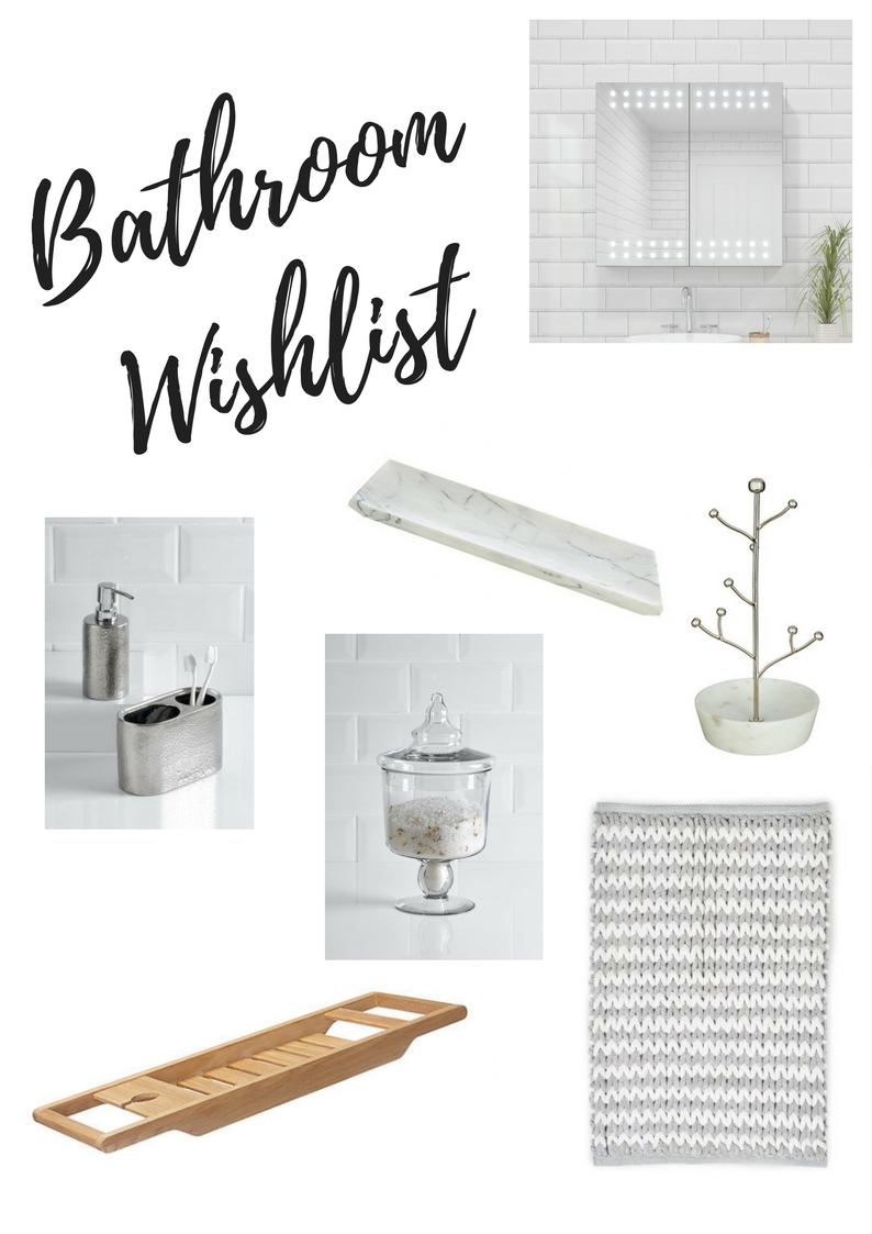 My Current Bathroom Wishlist