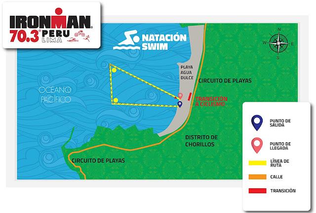 maraton natacion ciclismo Triatlon Chorrillos Lima