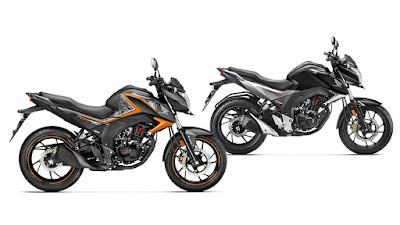 New 2016 Honda CB Hornet 160R two colours