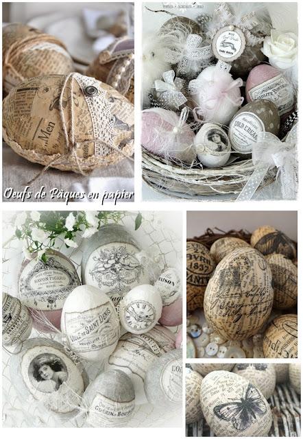 DIY de Pâques : oeuf en papier