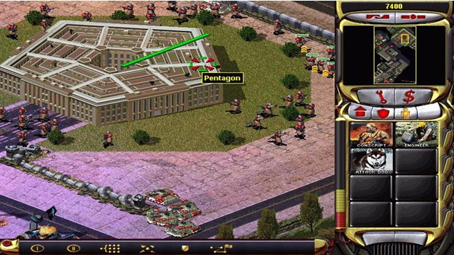 Download Command & Conquer Red Alert 2 PC Games Gameplay