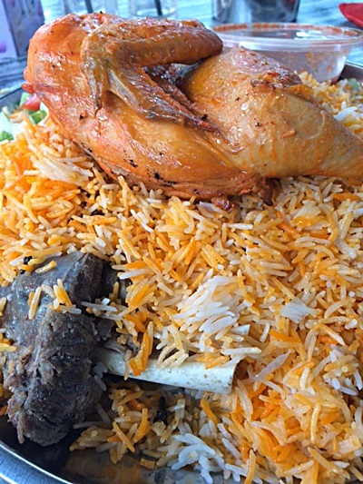 Nasi Arab Damsyik