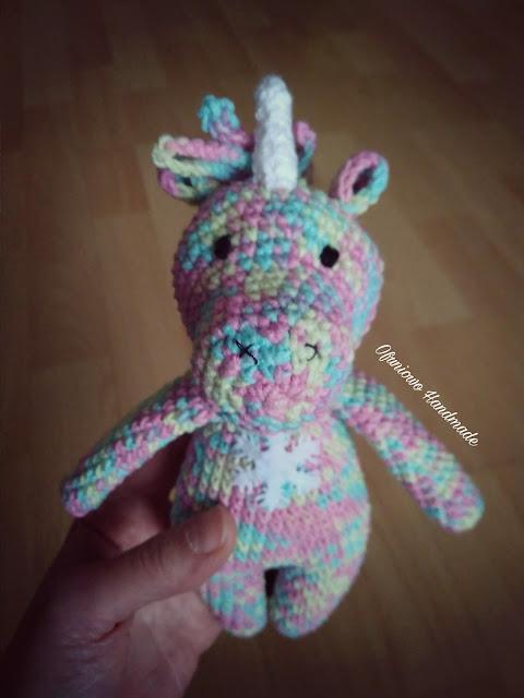 Crochet unicorn - Ofuniowo Handmade