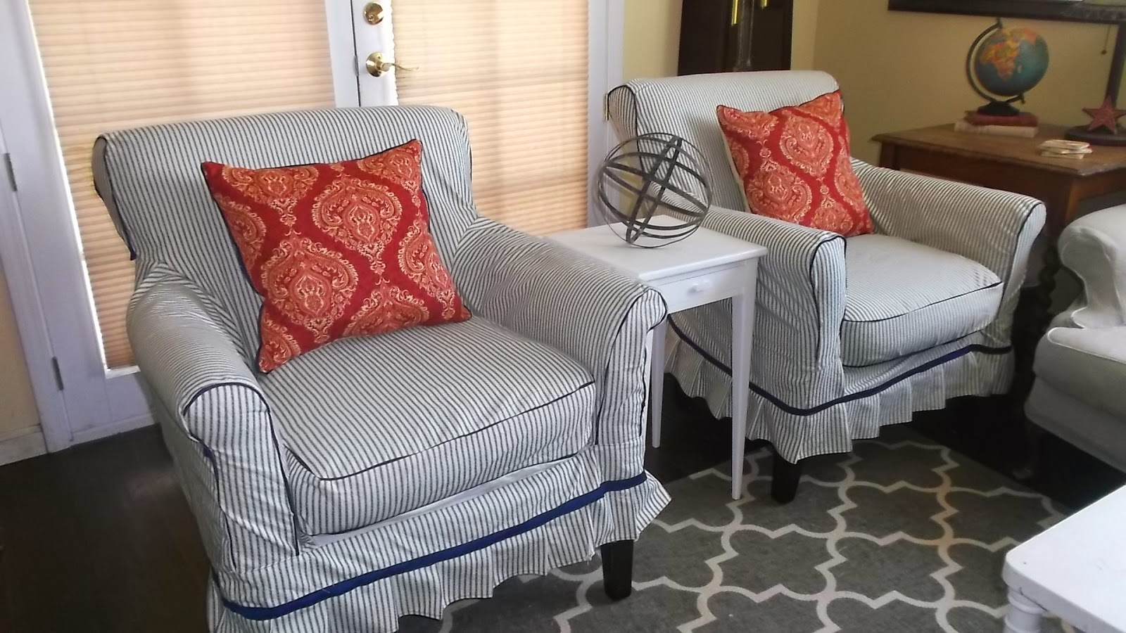 I Have Done Several Tutorials On How To Make Slipcovers So Won T Do That Now If You Are Interested Can Check Out This Sofa Slipcover