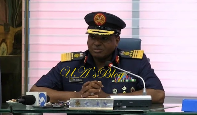 Air Force boss reveals those behind Zamfara attacks