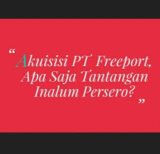 Akuisisi PT Freeport, Apa Saja Tantangan Inalum Persero, Cara Inalum Persero