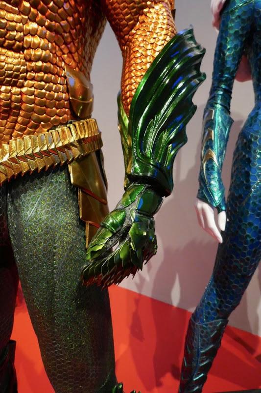 Aquaman movie glove costume detail
