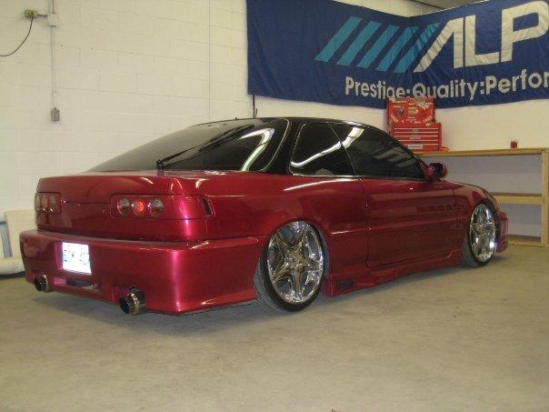 N on Acura Integra Side Panel
