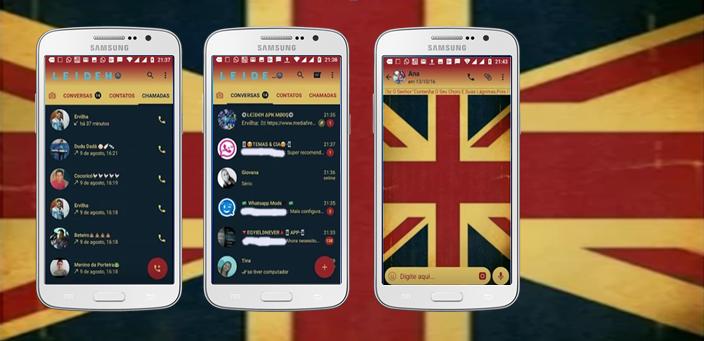 Baixar Temas GBWhatsapp - Flag of England