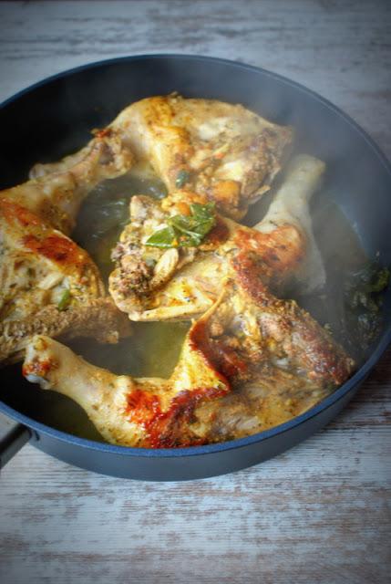 skworcu,curry premium,przyprawa curry,udka z patelni,szybkie mięso,