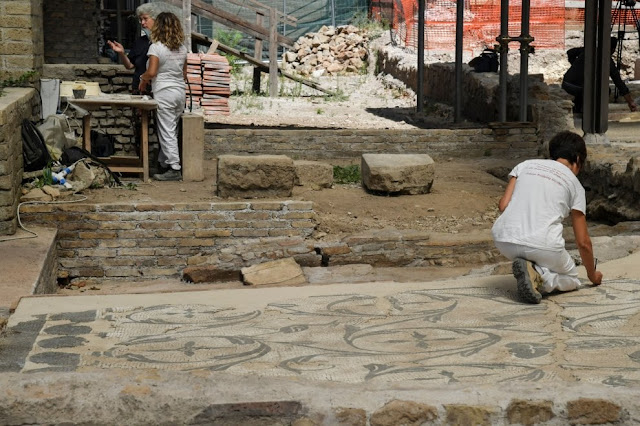 New discoveries at Rome's 'domus' of Helena, mother of emperor Constantine