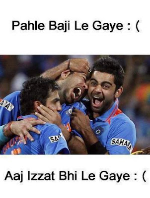 india cricket team after losing match