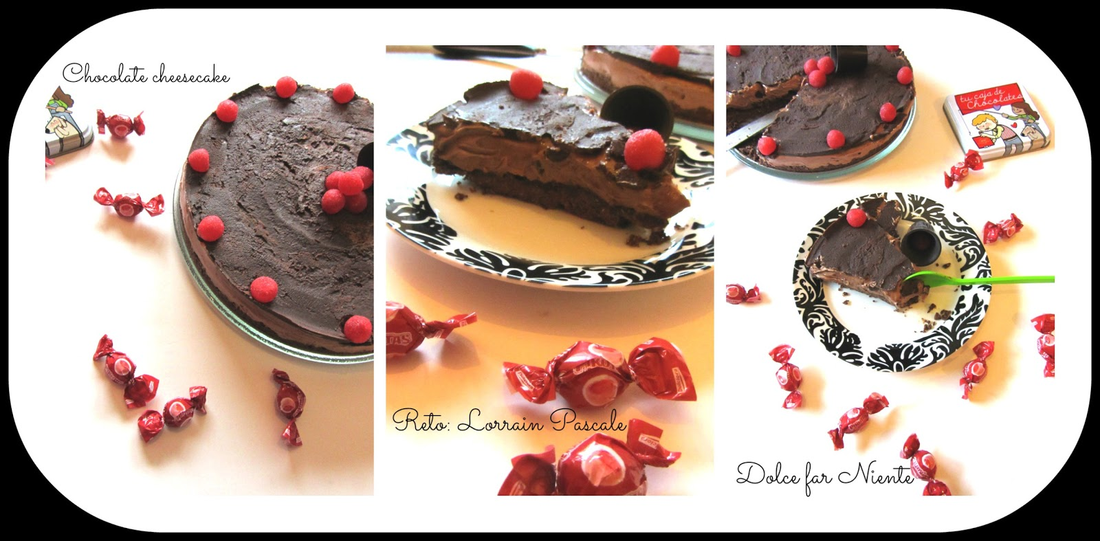 Canal Cocina Lorraine Pascale Dolce Far Niente Chocolate Chesscake Reto Lorraine Pascale