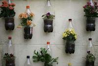 botellas de plastico recicladas para flores