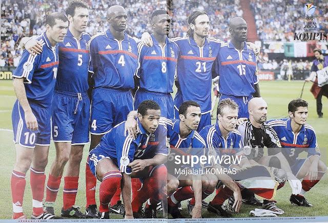 FRANCE NATIONAL TEAM EURO 2000